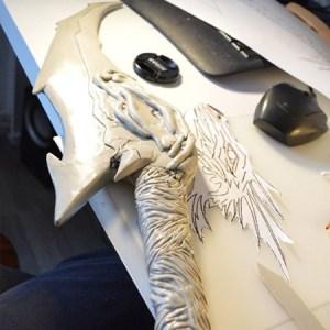 shiaya costumes - Thibra work