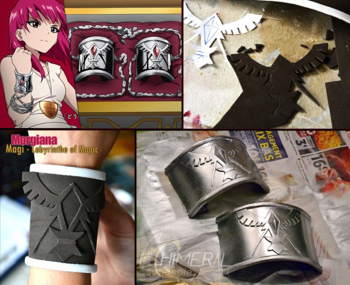 WIP Morgiana bracelets - Magi / Comission Cosplay by Chimeral CosplayArt