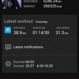 Salute e fitness Android