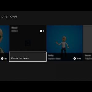 Elimina account Xbox One