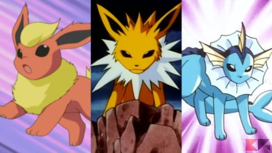 Eeveelutions-Pokemon-go