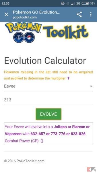 Pokémon Go - PL evoluzione