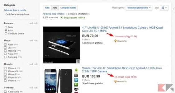 aste in scadenza eBay2