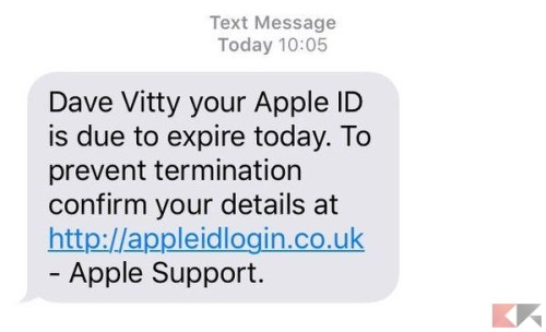 Apple ID scade oggi