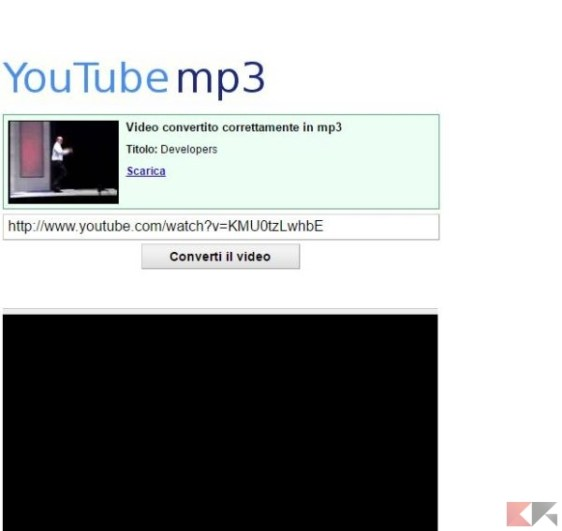 youtube-mp3 - Convertire video Youtube in MP3