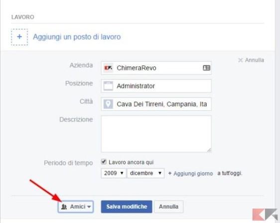 Bloccare il profilo Facebook ai non amici