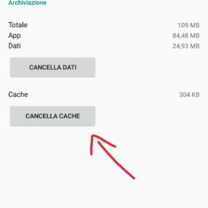 Differenza cache dati Android