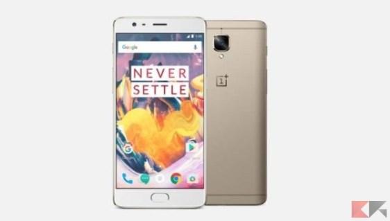 oneplus 3t - migliori smartphone cinesi con banda 20