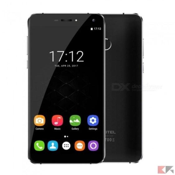 oukitel u11 plus - migliori smartphone cinesi con banda 20