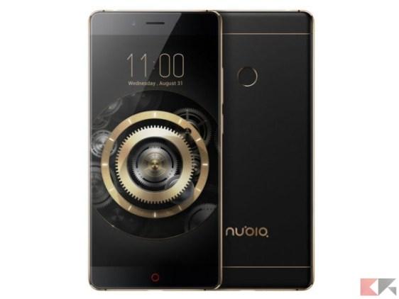 zte nubia z11 - migliori smartphone cinesi con banda 20