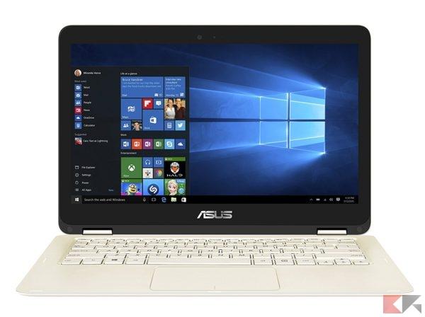 Asus UX360CA-C4171T ZenBook Flip Notebook