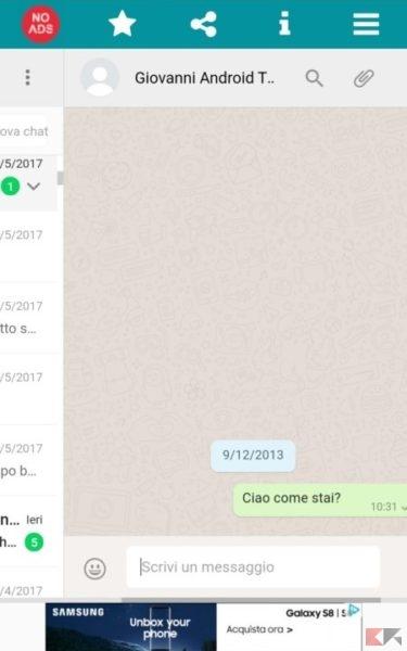 Spiare WhatsApp iPhone iOS