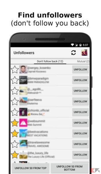app per vedere chi ti smette di seguire su instagram