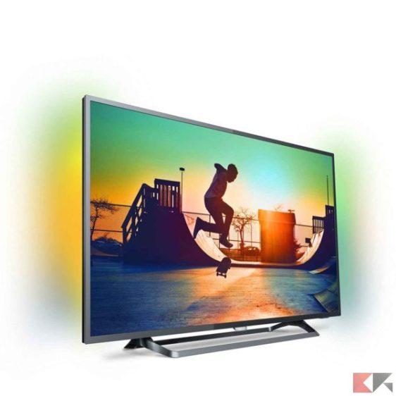 Philips 6000 series 4K Ultra-Slim Smart LED TV 55PUS6262/12