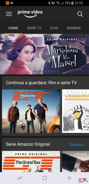 prime video android