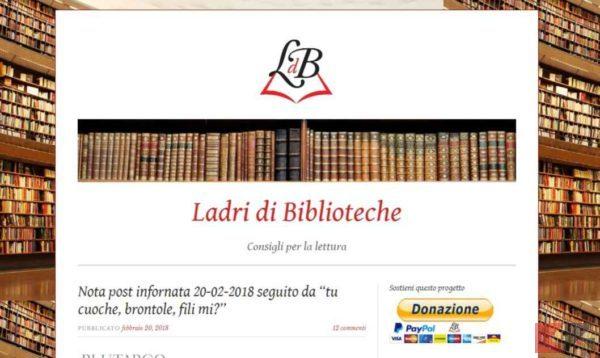 Scaricare libri gratis su Android: Ladri di Biblioteche