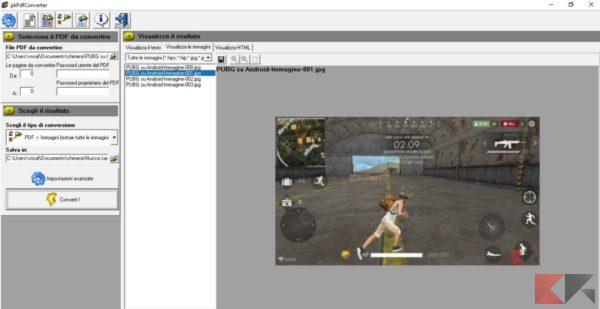 Estrarre immagini da PDF