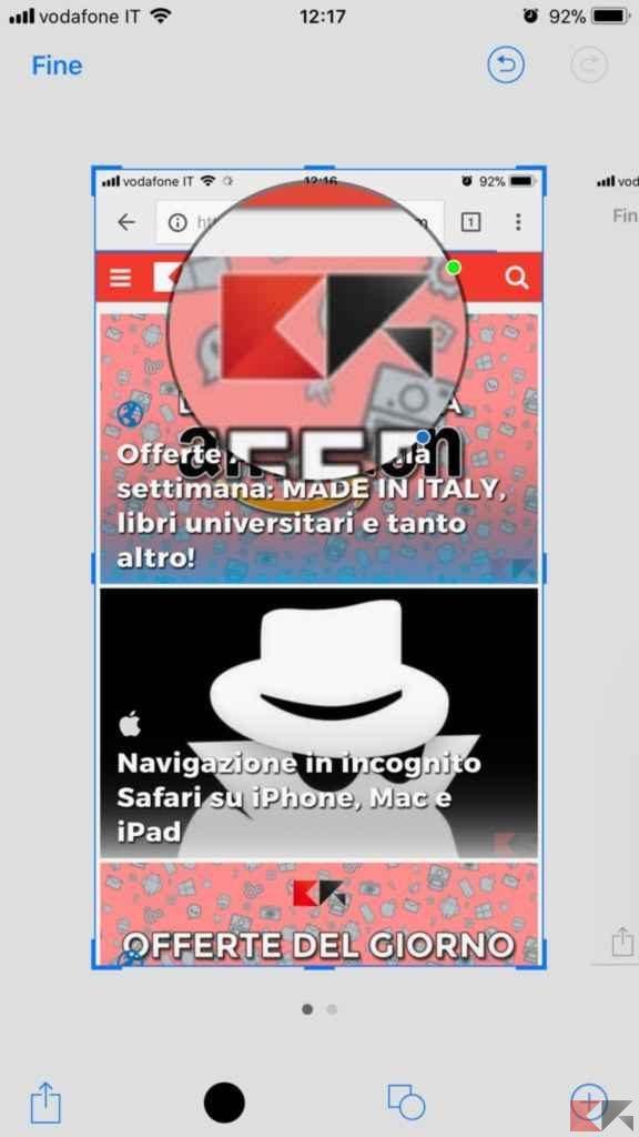 come fare screenshot iphone - come fare screenshot ipad