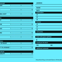 House-hunting Scorecard Freebie