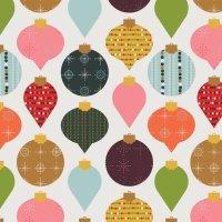 Freebie: Midcentury Christmas Ornament Desktop Wallpapers