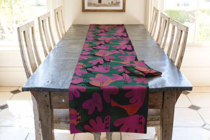 Just Like Living in Paradise Table Runner