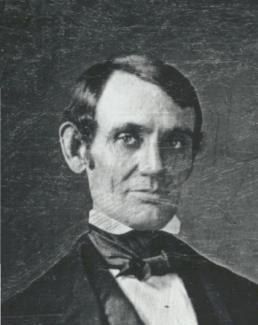 Abe Lincoln as young man