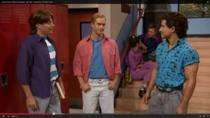 Tonight Show Saved by the Bel