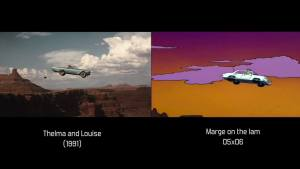 Simpsons Movie Montage