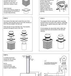 enervex exhausto chimney fans the ultimate downdraft solution installation  [ 847 x 1121 Pixel ]