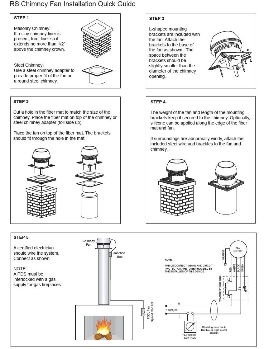 hight resolution of enervex exhausto chimney fans the ultimate downdraft solution installation