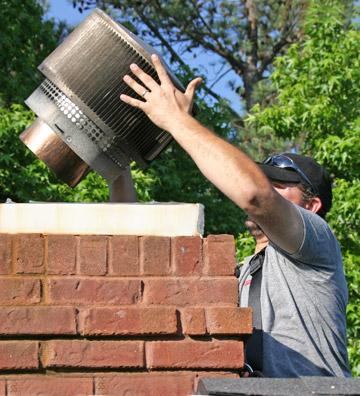 Chimney Caps  Atlanta Chimney Sweep  Chimney Tops  Stop Leaky Chimneys