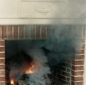 Fireplace Smoking  Atlanta  Smoky Fireplace  Chimney Exhaust Fan