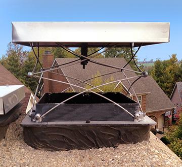 Chimney Damper  Atlanta  Chimney Leak  Install Chimney Damper