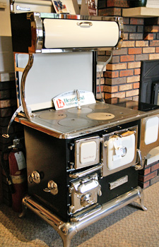 Wood Burning  Gas Cook Stoves by Hearthstone  Heartland  Madison to Dubuque  Verona