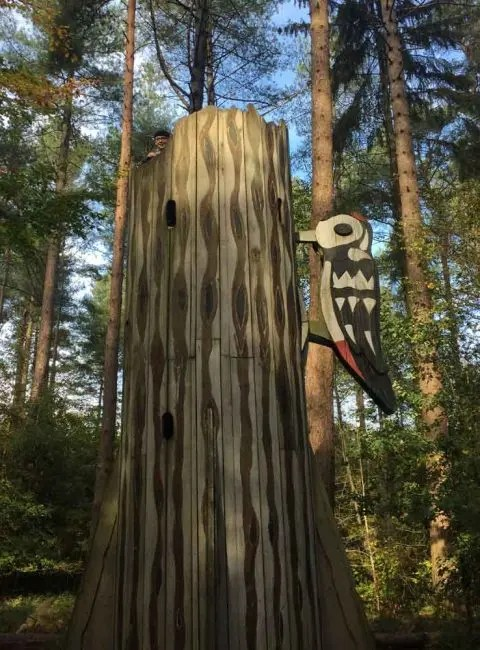You can walk, cycle, play or just have a picnic in these lovely woods. Alice Holt Forest Farnham Chimptrips