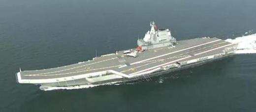 Type 002 aircraft carrier passes Taiwan Strait with armed J-15 fighters