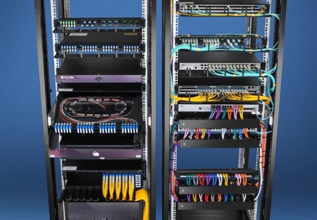 Server Rack Cable Management