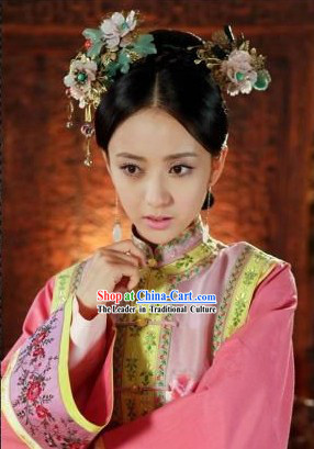 Qing Dynasty Style Handmade Empress Hair Accessories