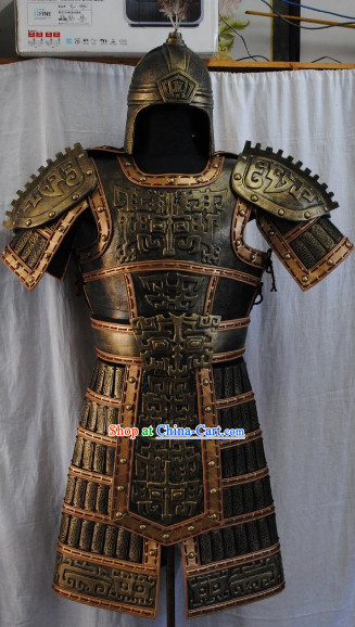 Chu Han Dynasty Cavalier Armor Costumes Complete Set
