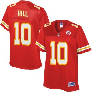 Women s Kansas City Chiefs Tyreek Hill NFL Pro Line Red Player Jersey bfe501576