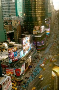 NYC - Times Square (from Mariott)