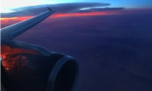 Flight-Sunset