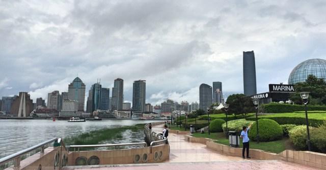 Morning-Run-China-Shanghai-Pudong