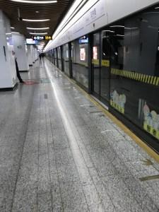 China, Shanghai, Chinese New Year, Zhabei, Hangzhong Lu Station