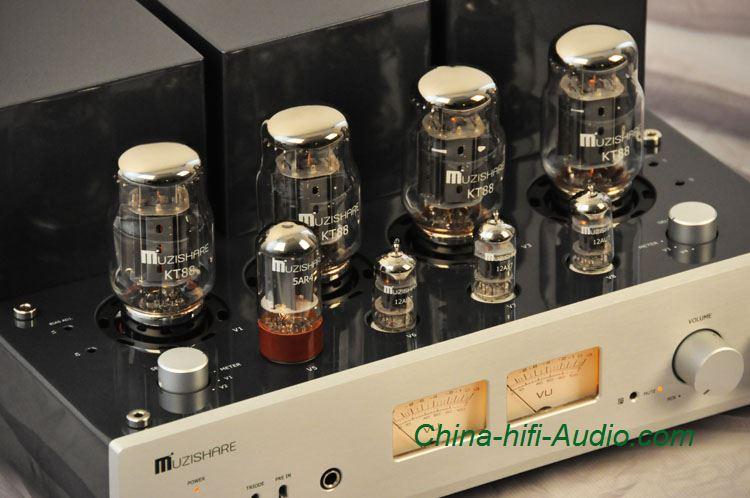 Amplifier Schematic Diagram Muzishare X7 Kt88 X4 Vacuum Tube Integrated Amplifier