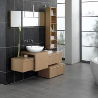 Contemporary Bathroom Cabinet,Modern And Contemporary