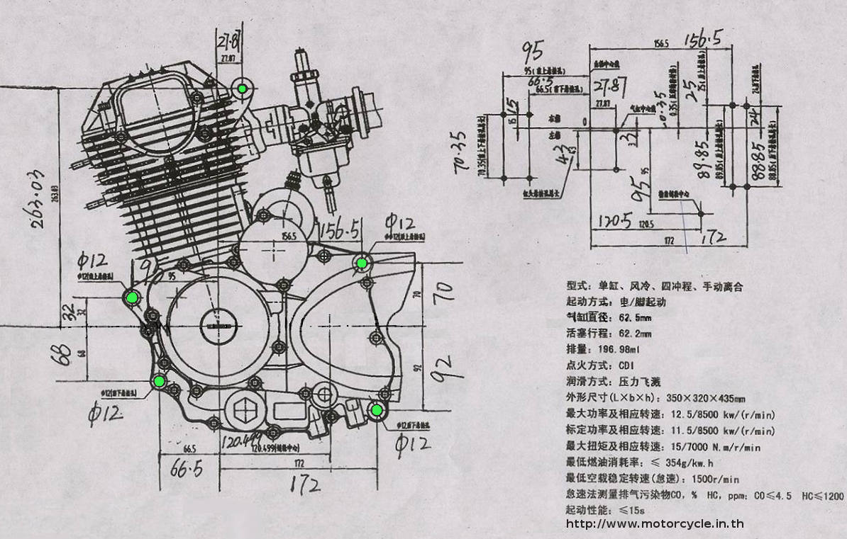 200cc Motorcycle Engine Diagram 50Cc Motorcycle Engine