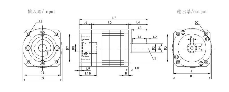 Planetary Gearboxes, planetary gear drives, Planetary