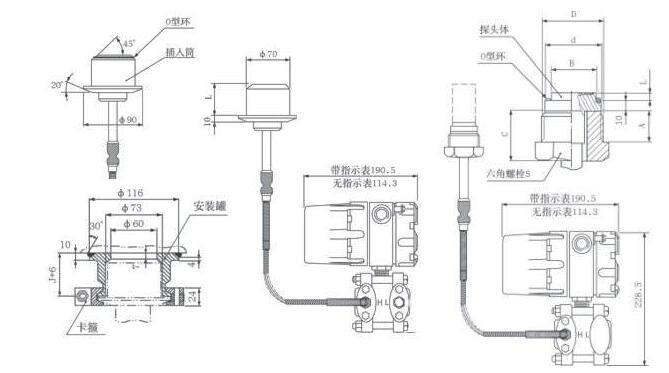 China SMT3151 Remote Pressure Transmitter Suppliers