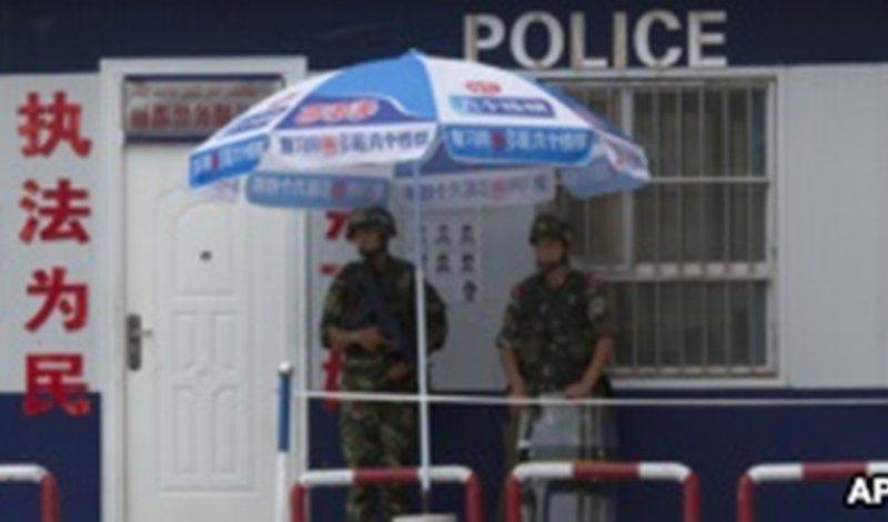 中国海内外人士联署抗议新疆虐待维吾尔人暴行